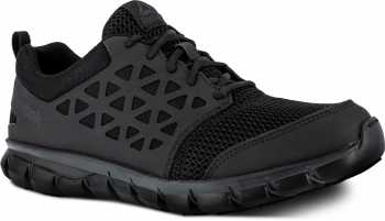 Reebok WGRB4035 Sublite Work, Men's, Black, Soft Toe, SD, Low Athletic