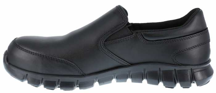 Reebok Work WGRB4036 Sublite Work, Men's, Black, Comp Toe, SD, Slip On