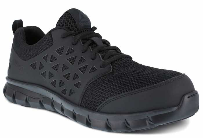 Reebok Work WGRB4039 Sublite Work, Men's, Black, Comp Toe, SD, Low Athletic