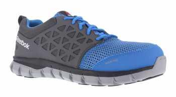 Reebok WGRB4040 Unisex Blue/Grey, XTR Alloy Toe, SD, Sublite Athletic Oxford
