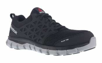 Reebok WGRB4041 Unisex Black, XTR Alloy Toe, EH, Sublite Athletic Oxford