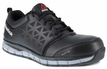 Reebok Work WGRB4049 Sublite Work, Men's, Black, Alloy Toe, CD, Low Athletic