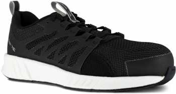 Reebok Work WGRB4311 Fusion Flexweave, Men's, Black/White, Comp Toe, SD, Work Athletic
