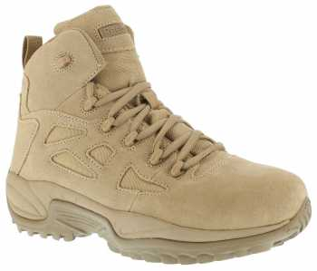 Reebok Work WGRB8694 Stealth, Men's, Desert Tan, Comp Toe, EH, 6 Inch Boot
