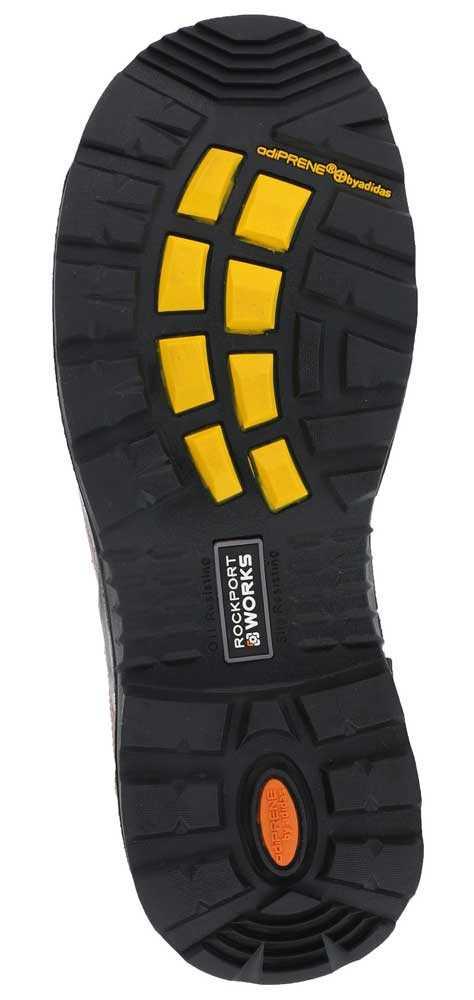 Rockport Works WGRK6628 Deer Tan Comp Toe, EH, Waterproof, Men's 6 Inch Boot