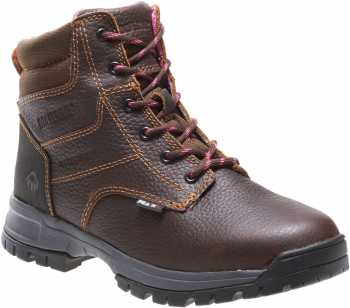 Wolverine WW10182 Piper, Women's, Brown, Soft Toe, EH, WP, 6 Inch Boot
