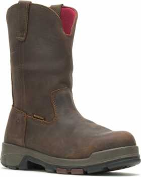 Wolverine WW10318 Cabor EPX Men's, Brown, Comp Toe, EH, Waterproof, Wellington