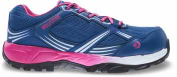 Wolverine WW10671 Rush Women's, Navy/Pink, CarbonMax, SD, Low Athletic