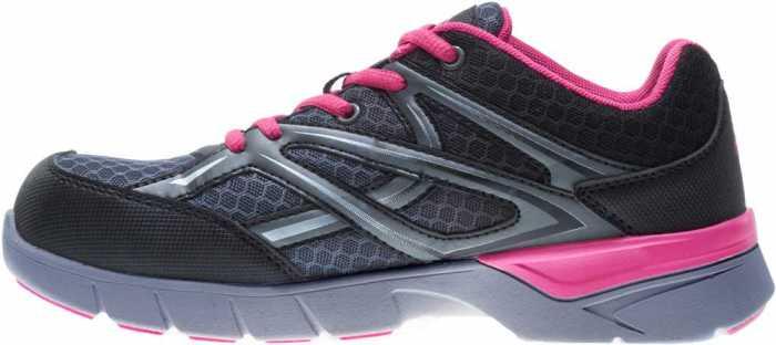 Wolverine WW10678 Jetstream Women's Grey/Pink, CarbonMAX, EH, Low Athletic