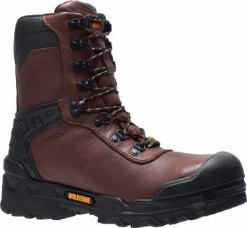 Wolverine WW10931 Warrior, Men's, Brown, CarbonMAX, EH, WP, 8 Inch Boot