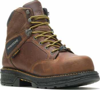 Wolverine WW201175 Hellcat UltraSpring, Men's, Brown, Comp Toe, EH, WP, 6 Inch Boot