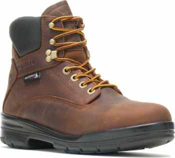Wolverine WW211022 DuraShocks SR WPF, Men's, Brown, Steel Toe, EH, WP, 6 Inch Boot