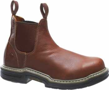 Wolverine WW2410 Raider, Men's, Brown, Steel Toe, EH, Romeo Boot