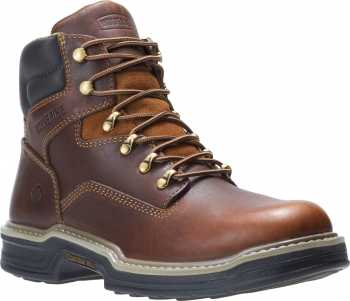 Wolverine WW2421 Raider MultiShox, Brown, Soft Toe, Men's 6 Inch Work Boot