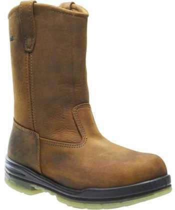 Wolverine WW3258 Durashocks, Men's, Brown, Steel Toe, EH, WP, Insulated Boot