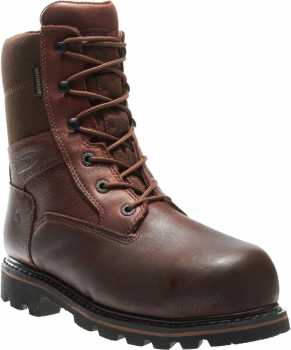 Wolverine WW3513 Novack, Men's, Brown, Comp Toe, EH, WP/Insulated, 8 Inch Boot