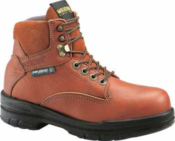 Wolverine WW3685 DuraShocks, Women's, Brown, Soft Toe, EH, 6 Inch Boot