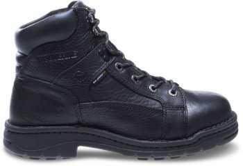 Wolverine WW4421 Exert Men's, Black, Steel Toe, EH, 6 Inch Work Boot