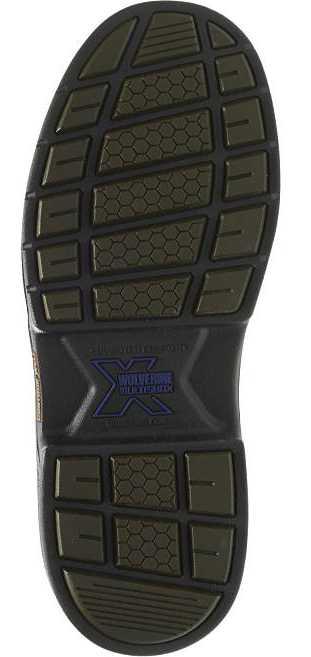Wolverine WW4820 Buccaneer, Men's, Brown, Steel Toe, EH, WP, 6 Inch Boot
