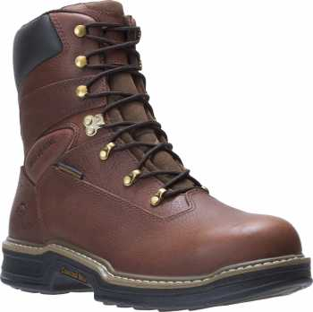 Wolverine WW4822 Buccaneer, Men's, Brown, Steel Toe, EH, WP, 8 Inch Boot