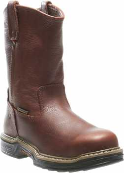 Wolverine WW4826 Buccaneer, Men's, Brown, Steel Toe, EH, WP, Pull On Boot