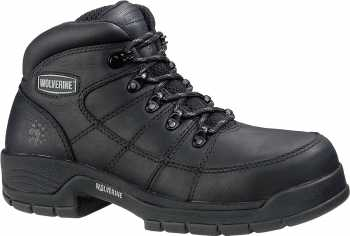Wolverine WW4903 Davis, Men's, Black, Soft Toe Hiker