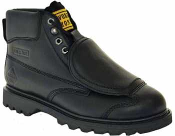 Work Zone WZM612 Men's, Black, Steel Toe, External Met Boot